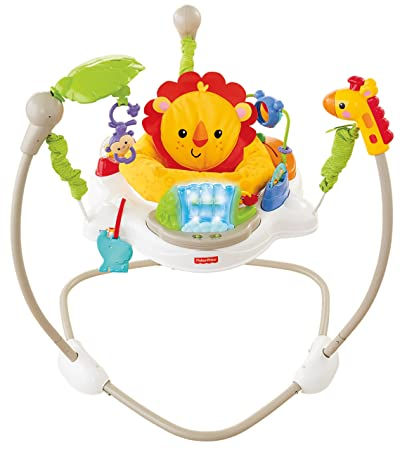 5096ed101 Amazon.com   Fisher-Price Rainforest Friends Jumperoo   Stationary ...