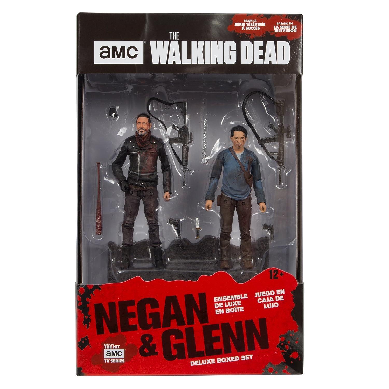 McFarlane Toys The Walking Dead Negan /& Glenn Deluxe Box Set 14518-2