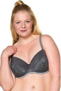 Ulla Popken Femme Grandes Tailles Femme Soutien-Gorge Minimiseur Grand  Taille sans Armature Dentelle 713079 ac7090615aa