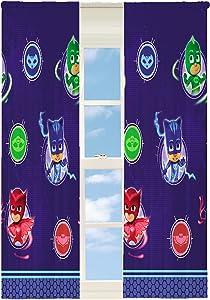 Pj Masks Kids Room Darkening Window Curtain Panels - 42 X 63 Inch [Blue]