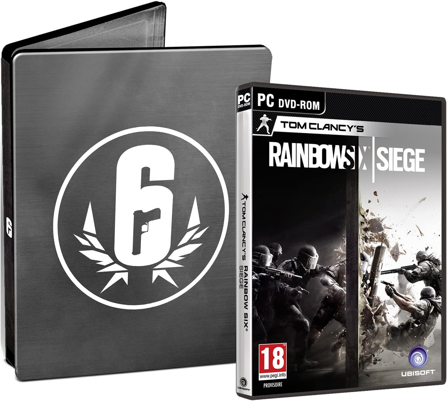 Rainbow Six: Siege + Steelbook Exclusif Amazon [Importación ...