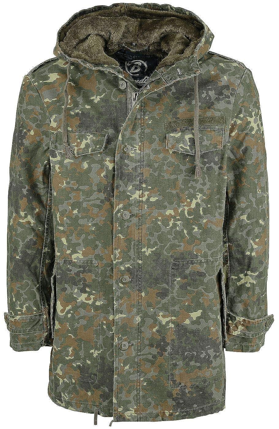 Brandit AF Parka Winter Jacket Olive