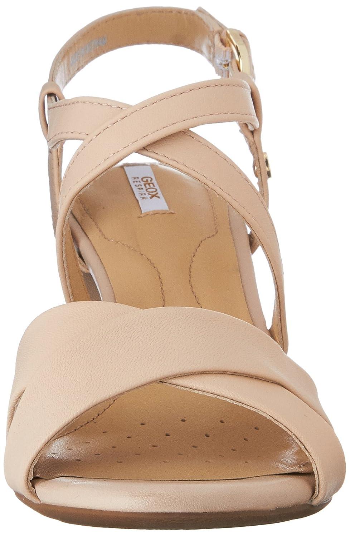 Geox D Nesa C, Sandales Femme  Amazon.fr  Chaussures et Sacs da22ee597aeb