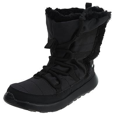 sale retailer 7acf6 ba8ff Nike Roshe One Hi(PSV) Little Kid s Shoes Black Metallic Silver 807759-