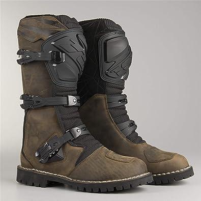 TCX Bottes Moto Drifter WP Vintage Marron: TCX Boots