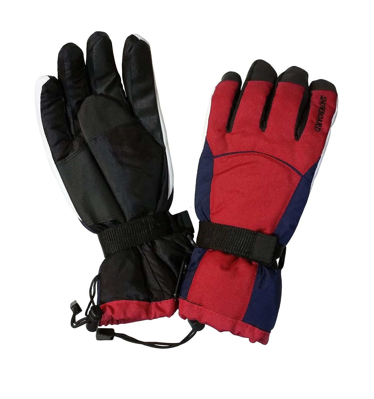 i-Smalls Boys Polar Expo Thermal Ski Snowboard Snow Gloves with Palm Grip