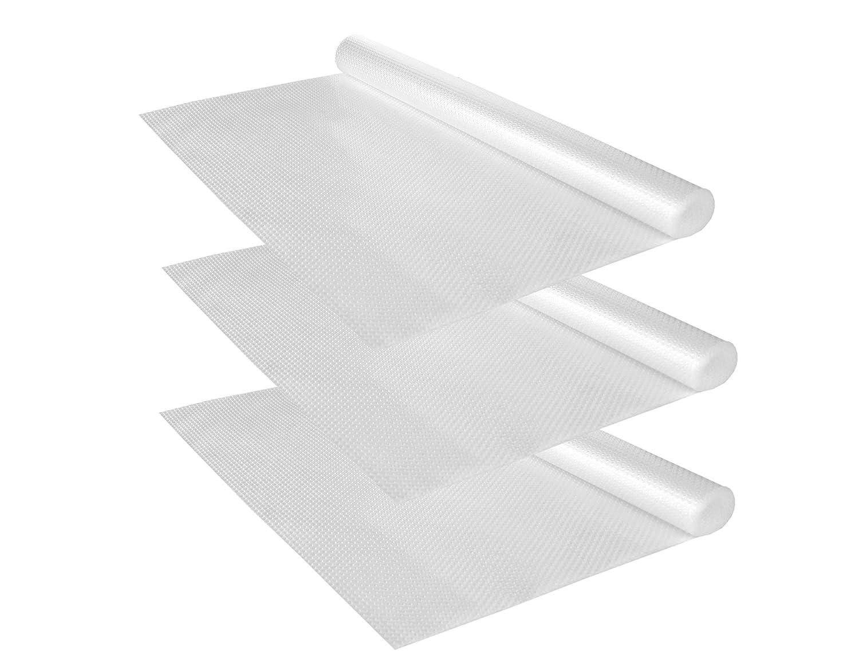 150 x 50 cm EVA-Kunststoff Kela 3er Set Schubladenmatte Soletta Unterlegmatte rutschhemmende Unterlage f/ür Schubladen zuschneidbar Antirutschmatte Regaleinlage