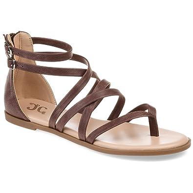 2206998b0b1 Amazon.com  Journee Collection Comfort Womens Zailie Sandal  Shoes