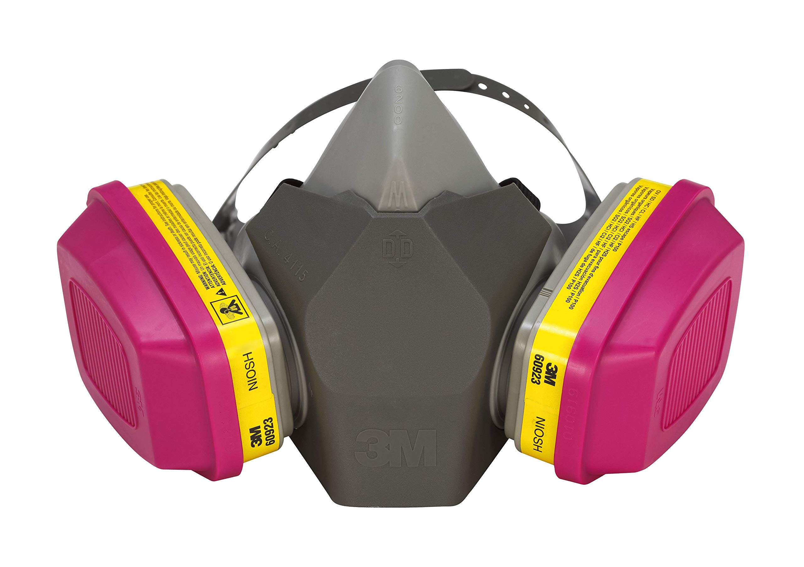3M 62023DHA1-C Professional Multi-Purpose Drop Down Respirator, Medium by 3M Safety