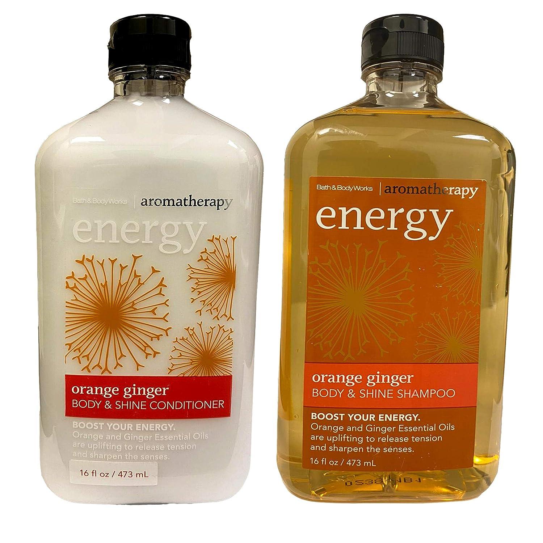 Amazon Com Bath Body Works Orange Ginger Body Shine Shampoo Conditioner Set Beauty