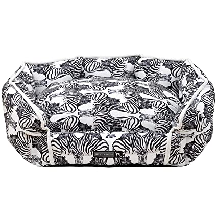 "bellomania® cama para perros Diseño""Zebra 58 x 48 x 23 cm para"