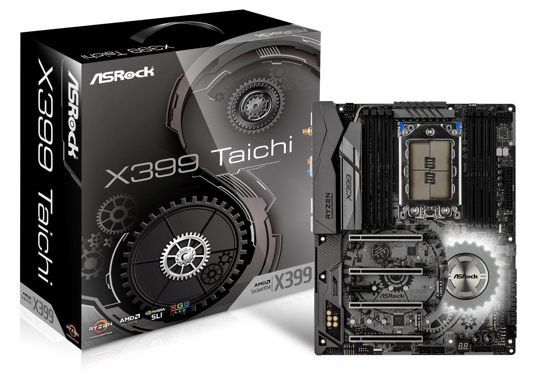 Asrock X399 Taichi Str4 Sata 6gb/s Usb 3.1/3.0 Atx Amd Mo...