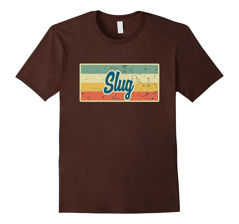 Slug Vintage Style Retro T-Shirt-FL