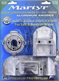 OEM Mercruiser Magnesium Anode Kit Alpha 1 Gen 2 Freshwater 1991/&UP 888755Q03