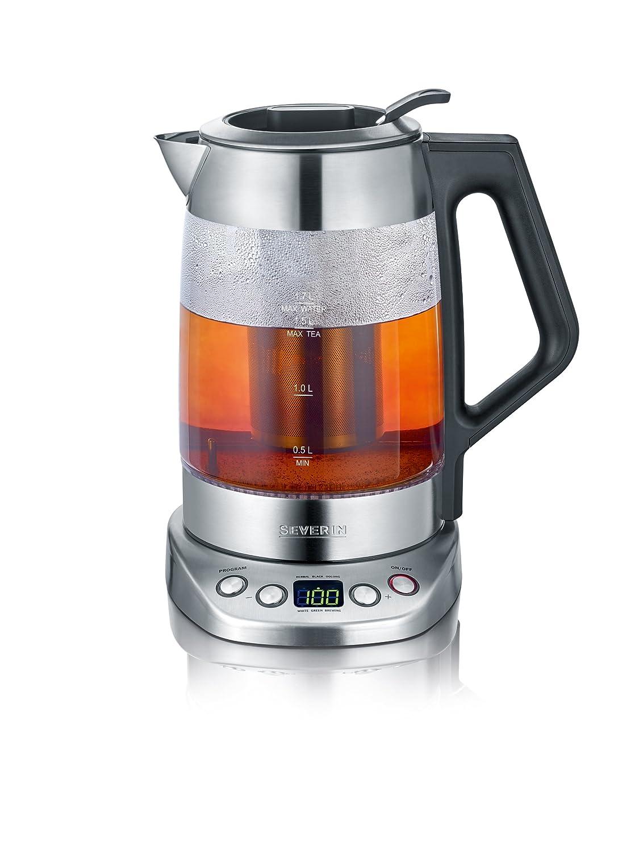 Severin WK 3479 Glas Tee und Wasserkocher Deluxe