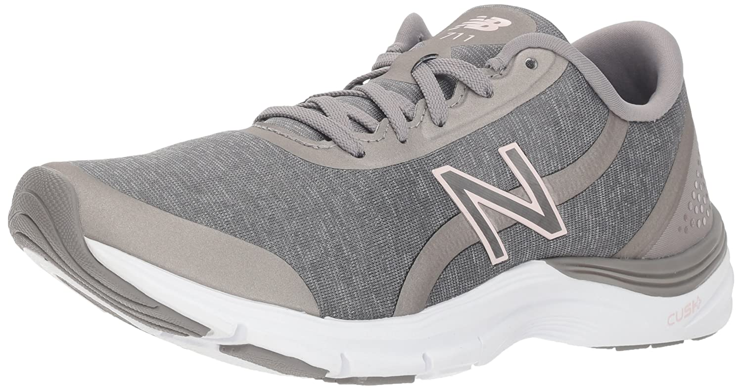 New Balance Women's 711v3 Cush + Cross Trainer B075R3RDLZ 5.5 D US|Grey