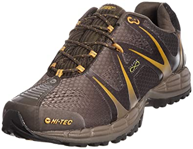 V-Lite Infinity Event Men's Trail Running Shoes Olive/Taupe/Sunflower US8.5