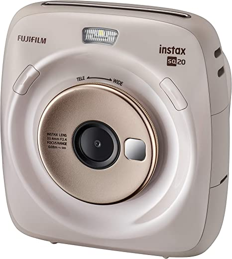 Instax Square SQ 20. Cámara híbrida instantánea Fujifilm: Amazon ...