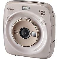 Fujifilm Instax SQUARE SQ 20 Hybride Instant Camera, Directe camera., beige, Square