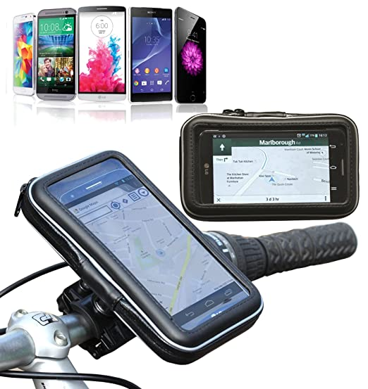 pretty nice 68ac8 38a05 Navitech Cycle / Bike / Bicycle & Motorbike Waterproof holder Mount & Case  For The iPhone 6 4.7