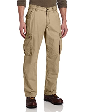 f05dd1e3afa Amazon.com: Carhartt Men's Rugged Cargo Pant in Relaxed Fit: Carhartt  Relaxed Straight: Clothing