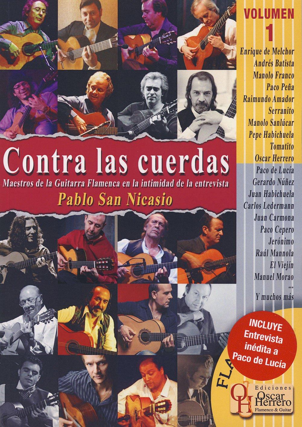 SAN NICASIO P. - Contra las cuerdas Vol.1 Entrevistas con Maestros ...