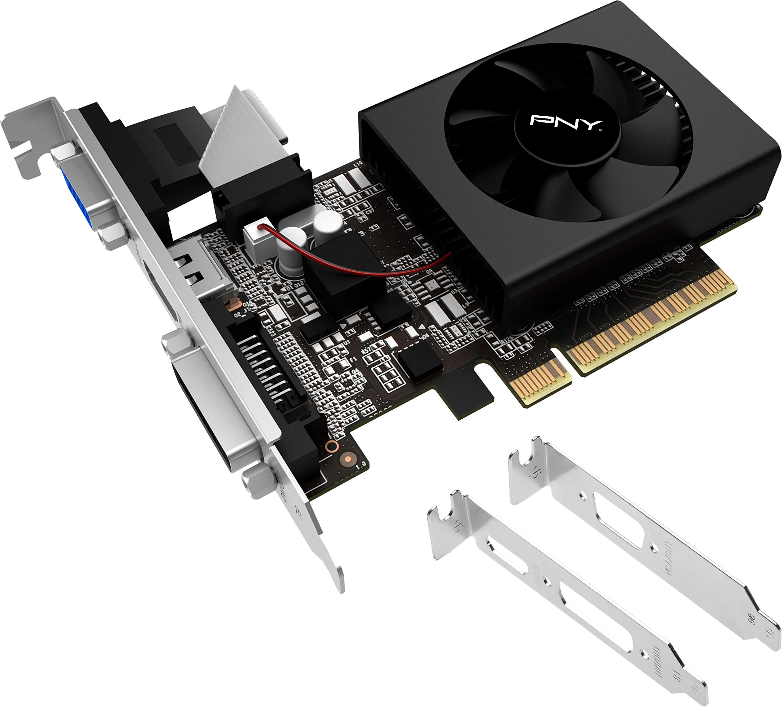 PNY GeForce GT 720 1GB DDR3 Graphics Cards VCGGT7201D3LXPB by PNY