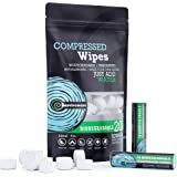 Surviveware Compressed Wipes, Compact Towels, Toilet Paper Tablets, 200 Count