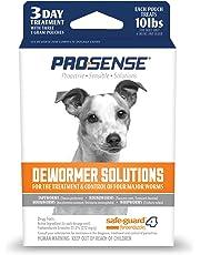 Pro-Sense Dog Dewormer Solutions Safe-Guard 1 Gram, 3 ct