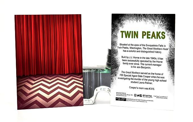 Twin Peaks gran del norte # 315 llavero: Amazon.es: Oficina ...