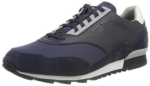 efb217628 BOSS Men's Zephir_Runn_Track Low-Top Sneakers