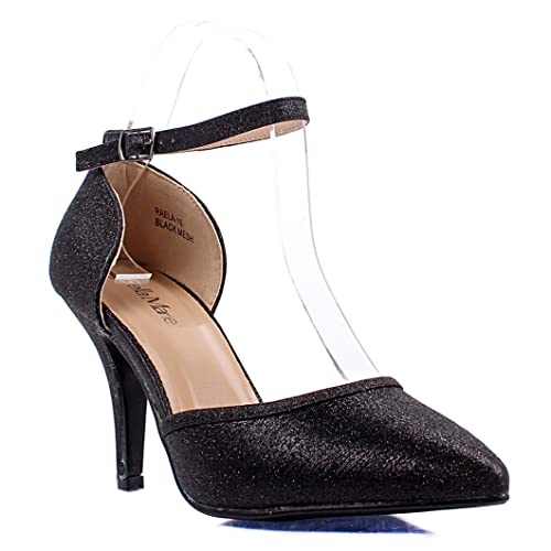 7ce534ba883 Amazon.com | weyoh Sexy Stilettos Buckle Ankle Strap Mary Janes ...