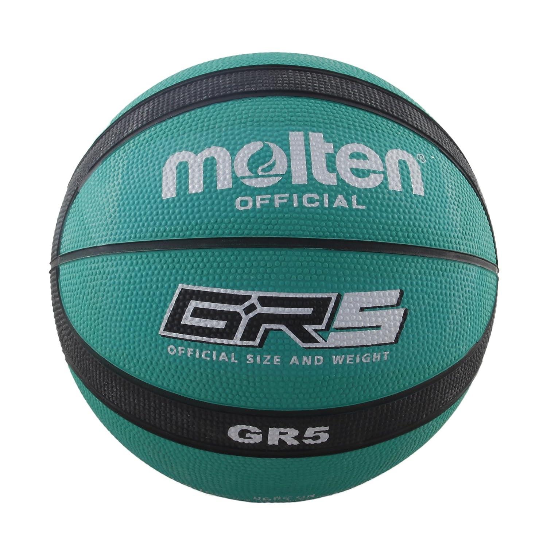 Molten BGR5-GK Ballon de Basket-Ball Vert/noirTaille 5
