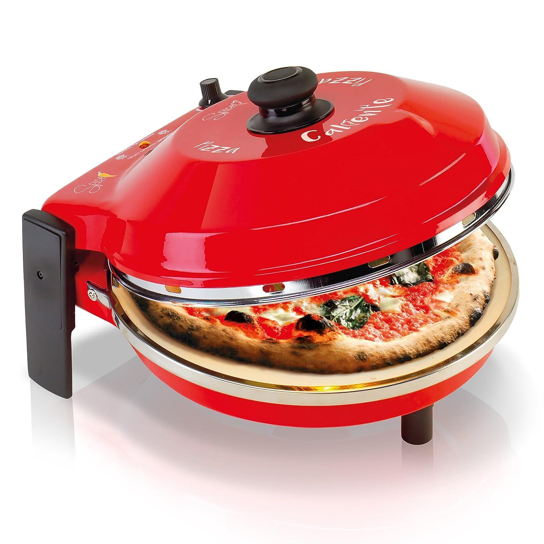 SPICE SPP029-R Horno Pizza Diavola y Caliente con Piedra ...