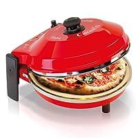 SPICE - Forno Pizza DIAVOLA e CALIENTE con pietra refrattaria 400 gradi Resistenza circolare