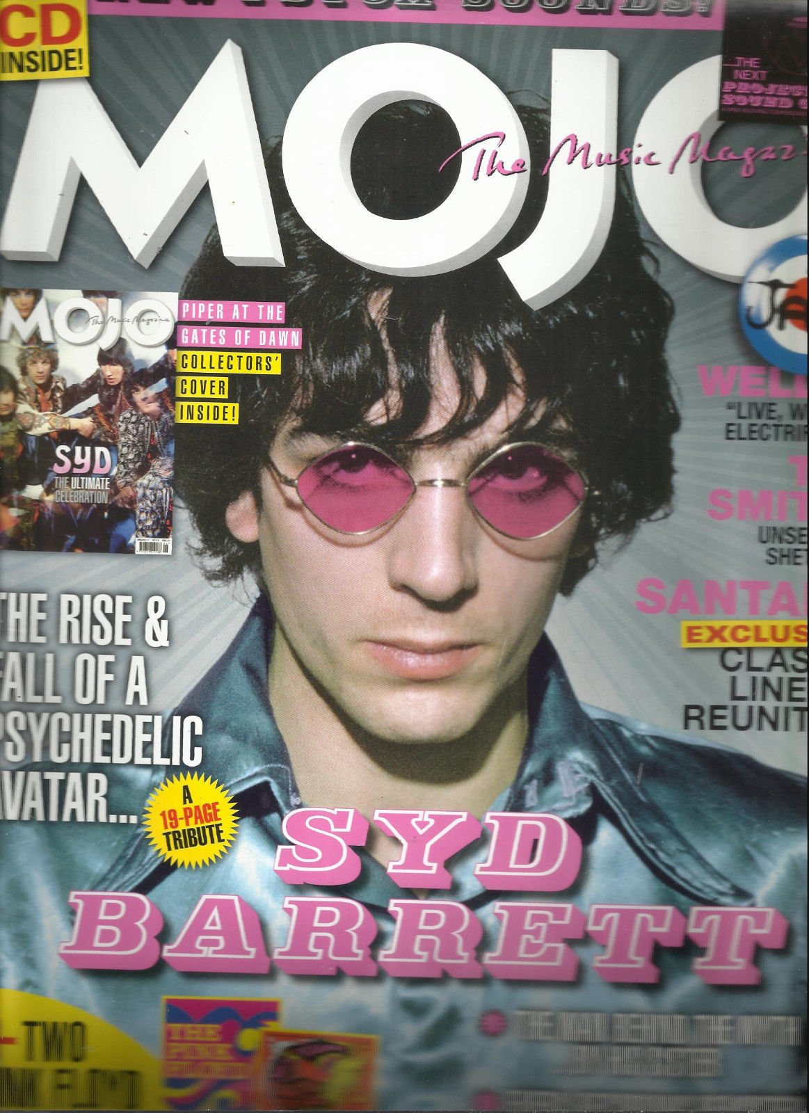 MOJO, THE MUSIC MAGAZINE, JUNE, 2016 THE RISE & FALL OF A PSYCHEDE LIC AVATAR (NOTE : SORRY, FREE CD ARE MISSING, JUST THE MAGAZINE ONLY.)