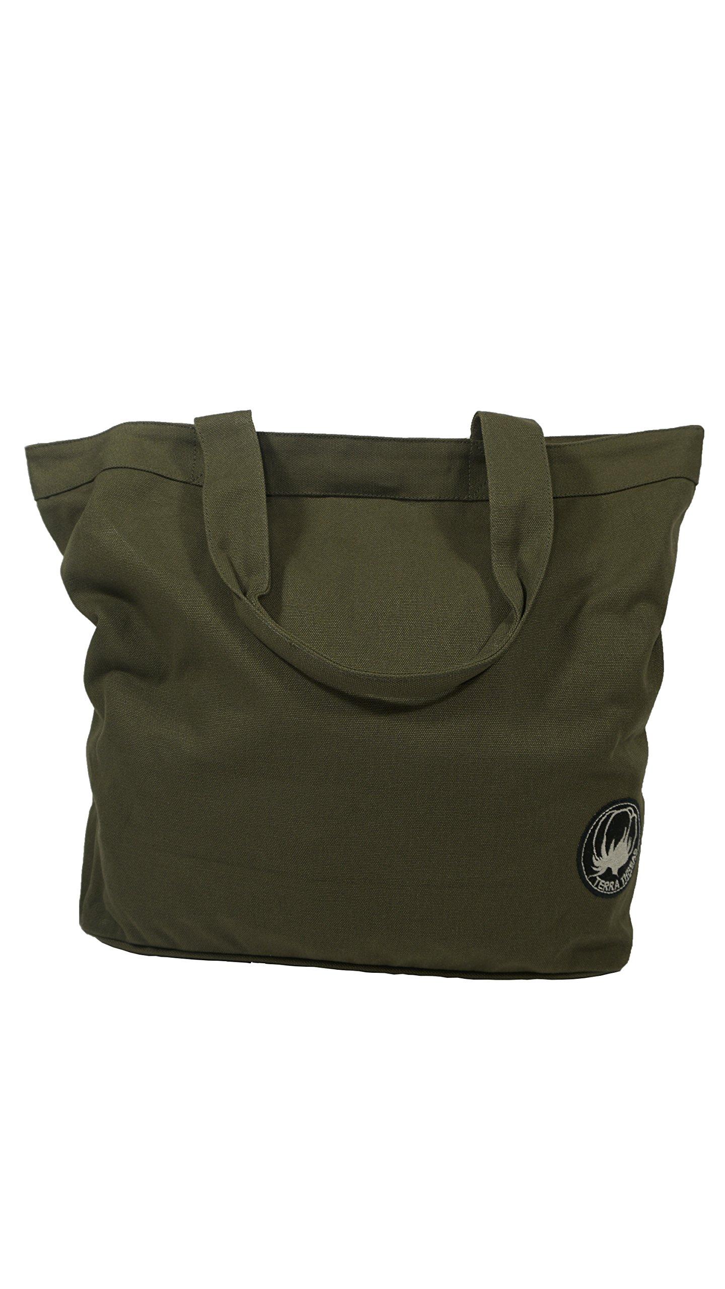 Organic Cotton Canvas Tote Bag. Shoulder Tote Bag. Work Tote. Weekend Bag.