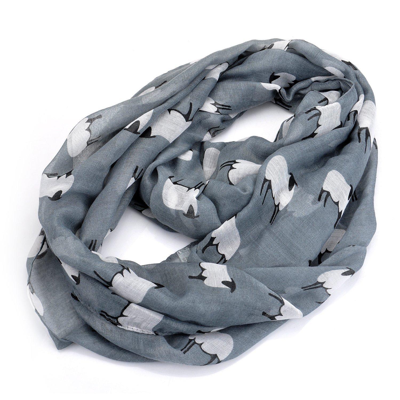 luremeAnimal Sheep Volie Lightweight Infinity Scarf(01003495)