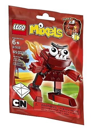 Amazon.com: LEGO Mixels 41502 Zorch Building Set: Toys & Games