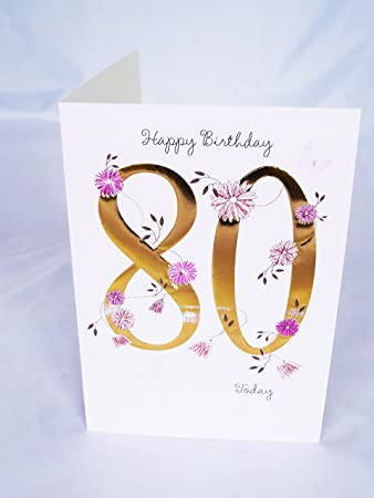 Happy 80th birthday card for her womens ladies female poem verse happy 80th birthday card for her womens ladies female poem verse luxury card bookmarktalkfo Choice Image