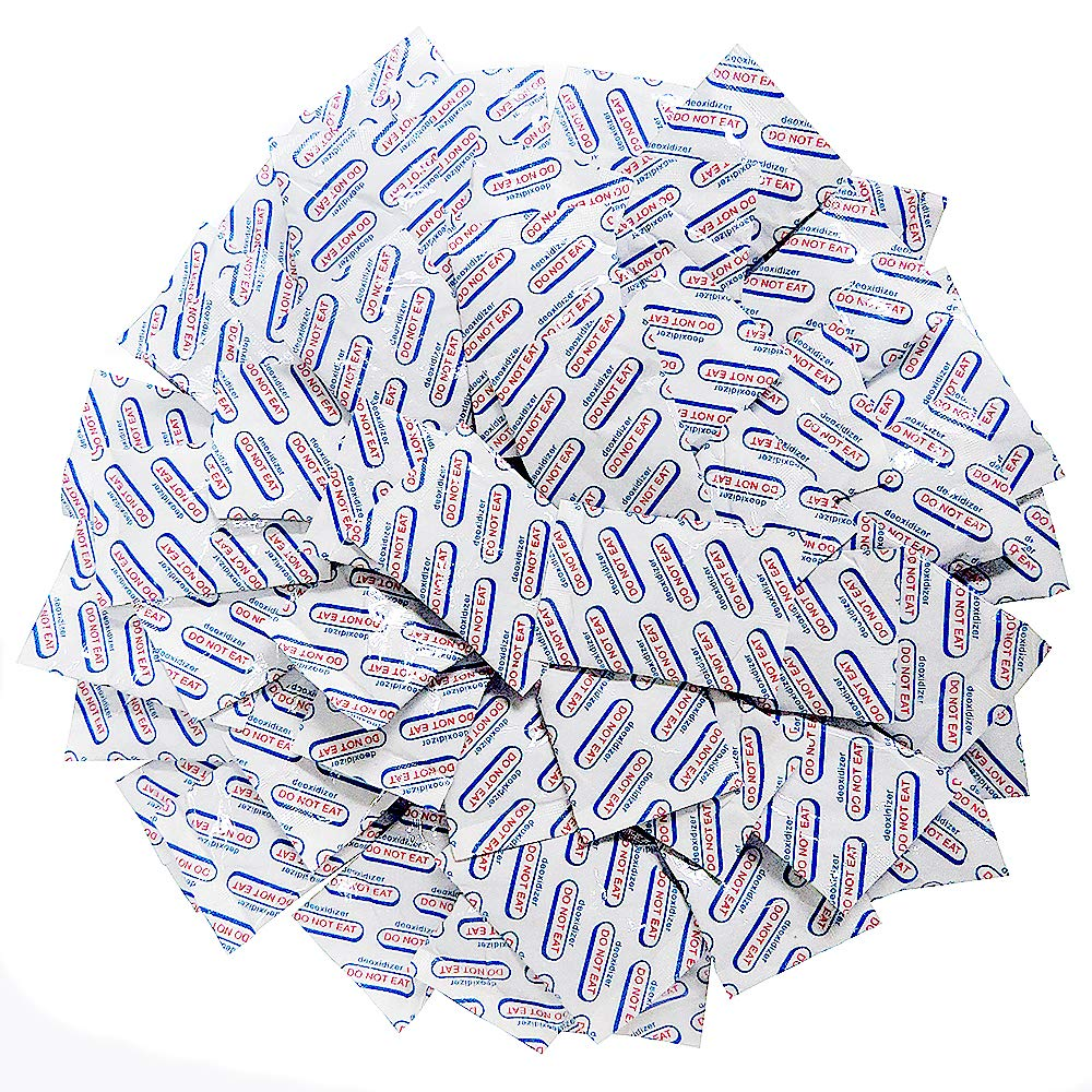 OXYGONE (50 Packs) 500 CC Premium Oxygen Absorbers - ISO 9001 Certified Facility Manufactured