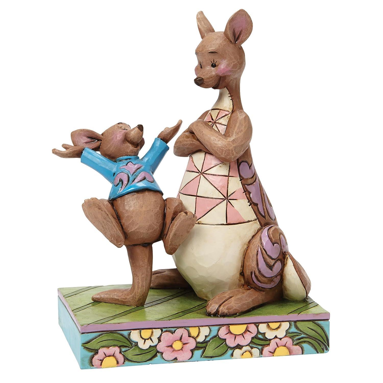 Jim Shore for Enesco Disney Traditions Kanga and Roo Figurine, 5.63