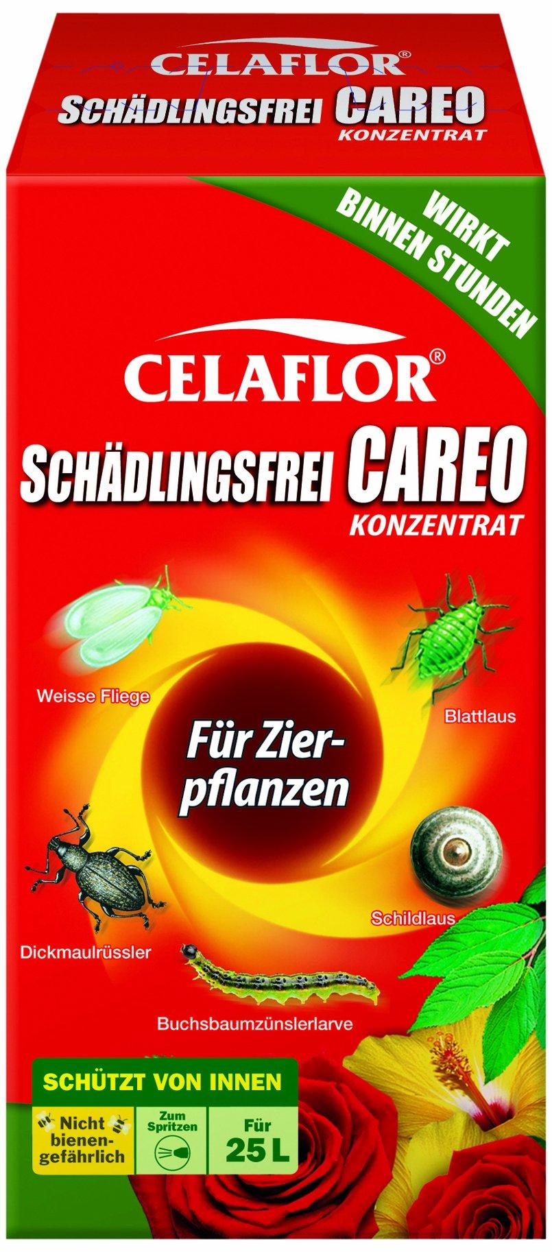 Celaflor Schädlingsfrei Careo Konzentrat, vollsystemisches Mittel mit schneller Wirkung gegen Schädlinge an Pflanzen, 250 ml product image