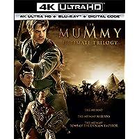 MUMMY TRILOGY 4K UHD [Blu-ray]