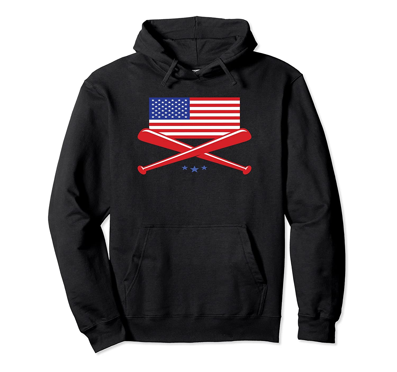 Patriotic Baseball bat Hoodie-4LVS