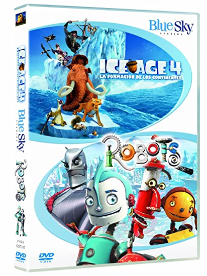 Ice Age 4/ Robots - Duo [DVD]: Amazon.es: Animación, Mike Thurmeier, Chris Wedge, Animación, Lori Forte: Cine y Series TV