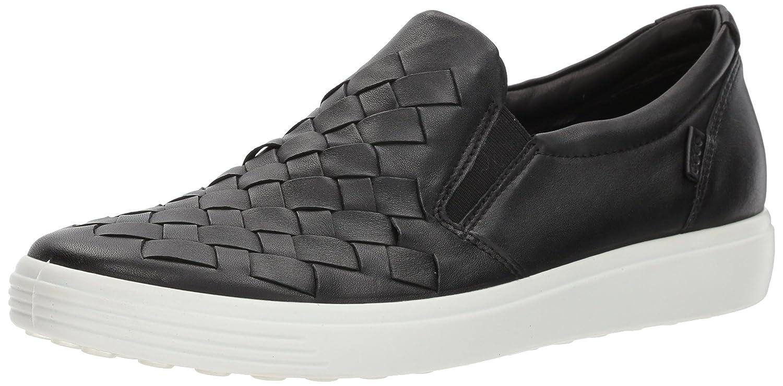 Ecco Damen on Soft 7 Ladies Slip on Damen Sneaker Schwarz (schwarz) f350d6