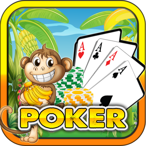 Poker Monkey Jungle Run Free Cards Game Rainforest Escape Top Poker Free Poker Cards Games Free 2015 Casino Jackpot Vegas Best Poker Free App for Kindle Tablets Mobile Casino Poker Cards (Best Poker App Android Tablet)