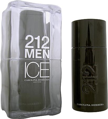 Carolina herrera 212 men on ice eau de toilette 100ml con vaporizador: Amazon.es: Belleza