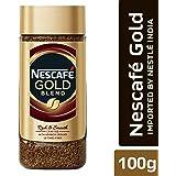 Nescafe Gold Rich and Smooth Coffee Powder, 100g Glass Jar